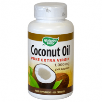 Nature's Way Coconut Oil Capsules 120s